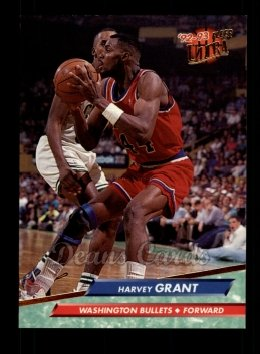 1992 Fleer Ultra #188  Harvey Grant