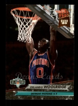 1992 Fleer Ultra #220   -  Orlando Woolridge Jam Sessions