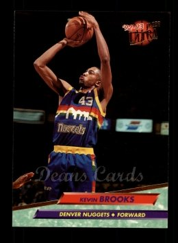 1992 Fleer Ultra #250  Kevin Brooks