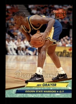 1992 Fleer Ultra #262  Jeff Grayer