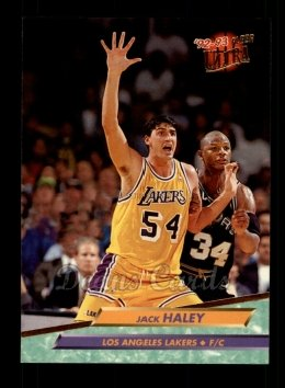 1992 Fleer Ultra #288  Jack Haley