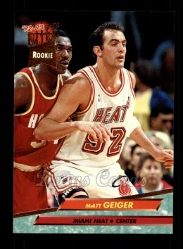 1992 Fleer Ultra #291  Matt Geiger