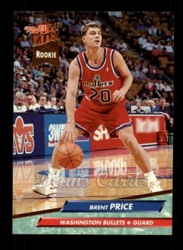 1992 Fleer Ultra #372  Brent Price