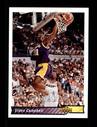 1992 Upper Deck #152  Elden Campbell