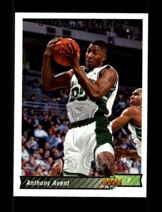 1992 Upper Deck #313  Anthony Avent