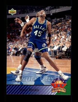 1992 Upper Deck #459   -  Sean Rooks Top Prospects