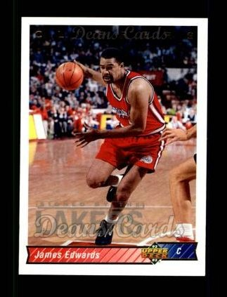1992 Upper Deck #84  James Edwards