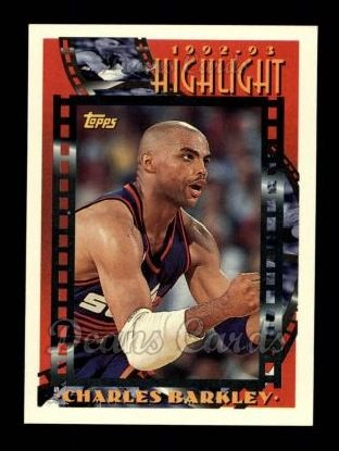 1993 Topps #1   -  Charles Barkley  Highlights