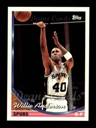 1993 Topps #76  Willie Anderson