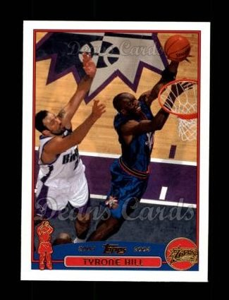 2003 Topps #199  Tyrone Hill
