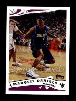 2005 Topps #135  Marquis Daniels