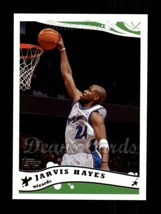 2005 Topps #205  Jarvis Hayes