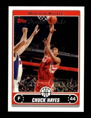 2006 Topps #209  Chuck Hayes