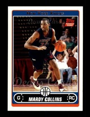 2006 Topps #224  Mardy Collins