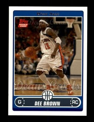 2006 Topps #229  Dee Brown