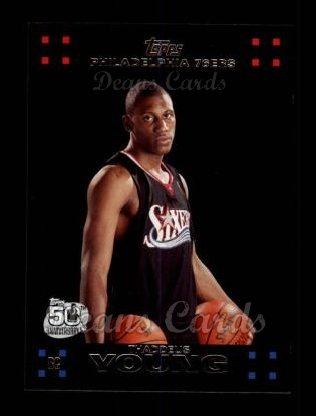 2007 Topps #122  Thaddeus Young