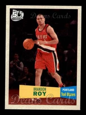 2007 Topps 1957-58 Variation #107  Brandon Roy