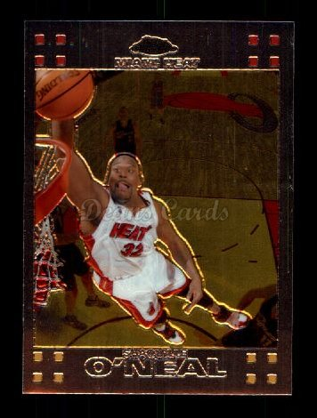 2007 Topps Chrome #32  Shaquille O'Neal
