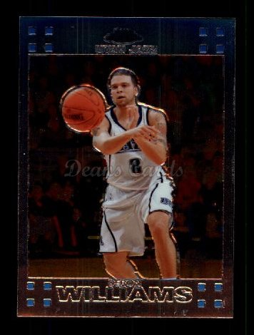2007 Topps Chrome #99  Deron Williams