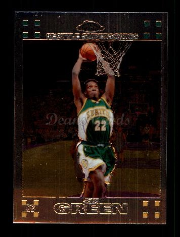 2007 Topps Chrome #151  Jeff Green