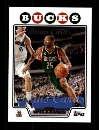 2008 Topps #112  Mo Williams
