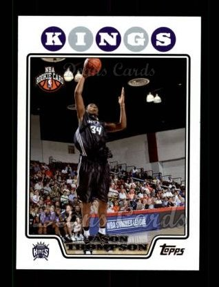 2008 Topps #207  Jason Thompson