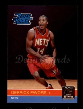 2010 Donruss #230  Derrick Favors