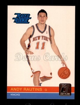2010 Donruss #260  Andy Rautins