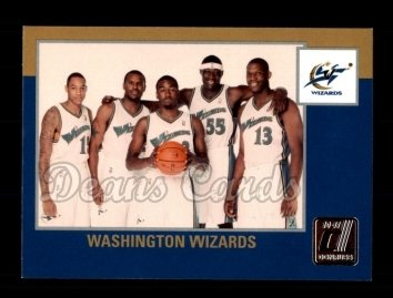 2010 Donruss #277   Wizards Team