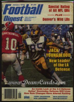1978 Football Digest    January  - Jack Youngblood