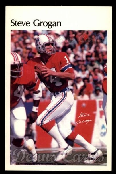 1981 Marketcom #21  Steve Grogan