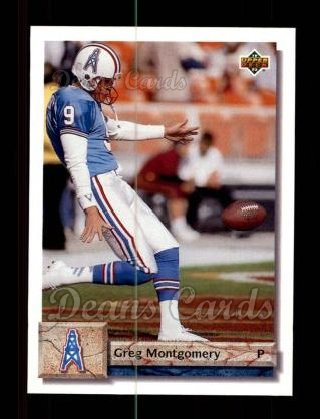 1992 Upper Deck #180  Greg Montgomery