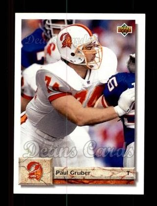 1992 Upper Deck #235  Paul Gruber