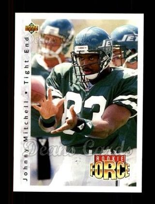 1992 Upper Deck #417  Johnny Mitchell