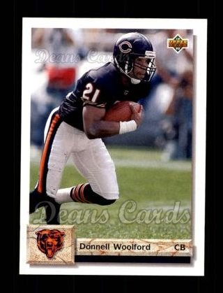 1992 Upper Deck #507  Donnell Woolford