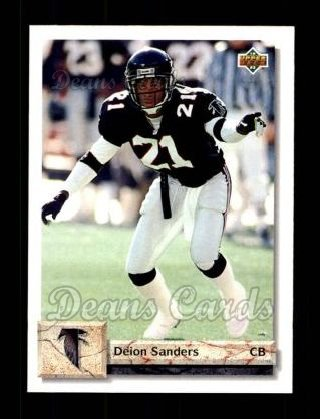 1992 Upper Deck #567  Deion Sanders