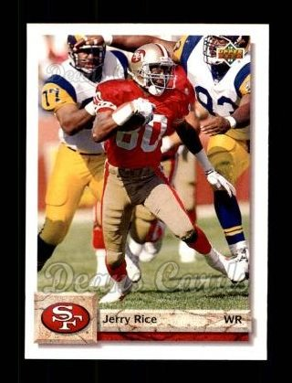 1992 Upper Deck #616  Jerry Rice