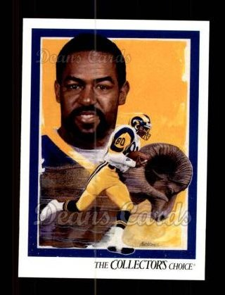 1992 Upper Deck #95   -  Henry Ellard St. Louis Rams Team