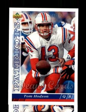 1993 Upper Deck #187  Tommy Hodson