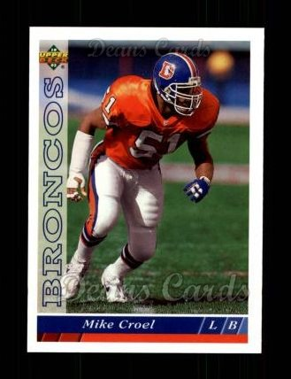 1993 Upper Deck #204  Mike Croel