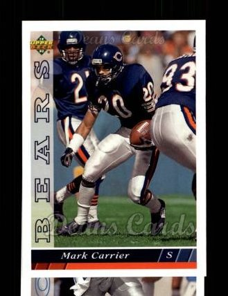 1993 Upper Deck #224  Mark Carrier
