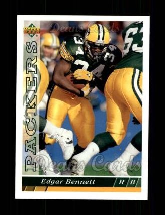 1993 Upper Deck #289  Edgar Bennett