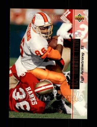 1993 Upper Deck #37  Tyji Armstrong