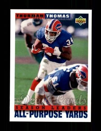 1993 Upper Deck #428  Thurman Thomas