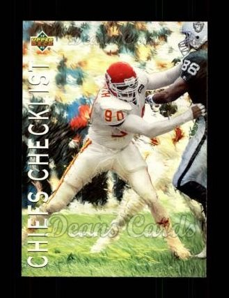 1993 Upper Deck #71   -  Neil Smith Kansas City Chiefs Team