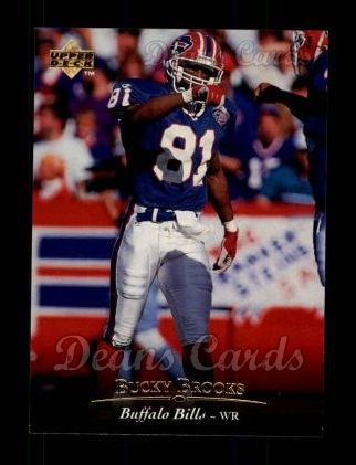 1995 Upper Deck #213  Bucky Brooks