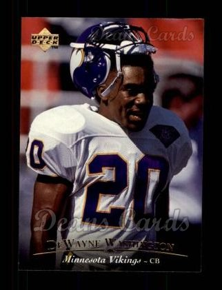 1995 Upper Deck #260  Dewayne Washington