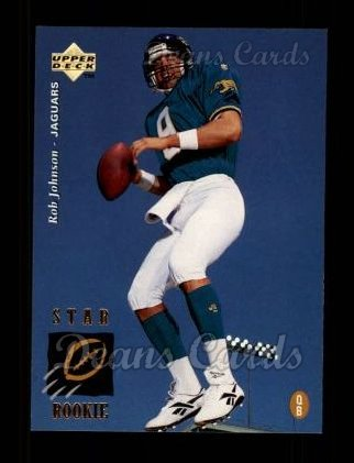 1995 Upper Deck #28  Rob Johnson