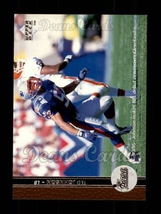 1996 Upper Deck #108  Ted Johnson