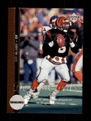 1996 Upper Deck #127  Jeff Blake